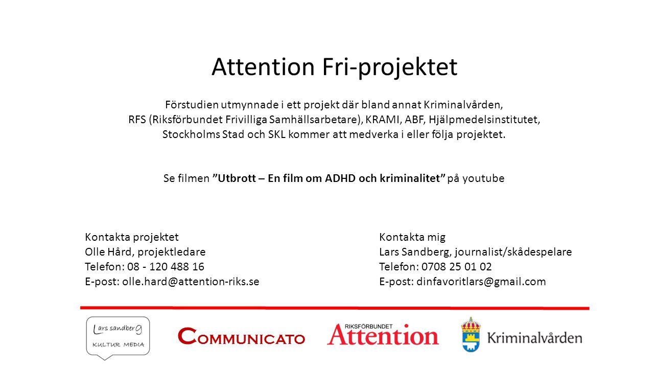 Attention Fri-projektet