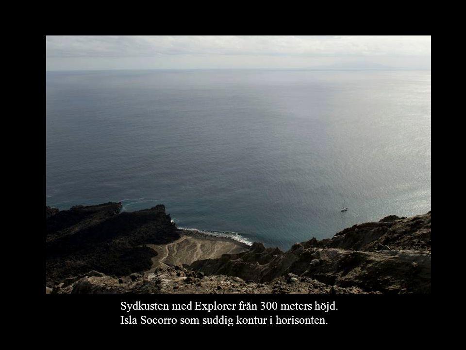 Sydkusten med Explorer från 300 meters höjd