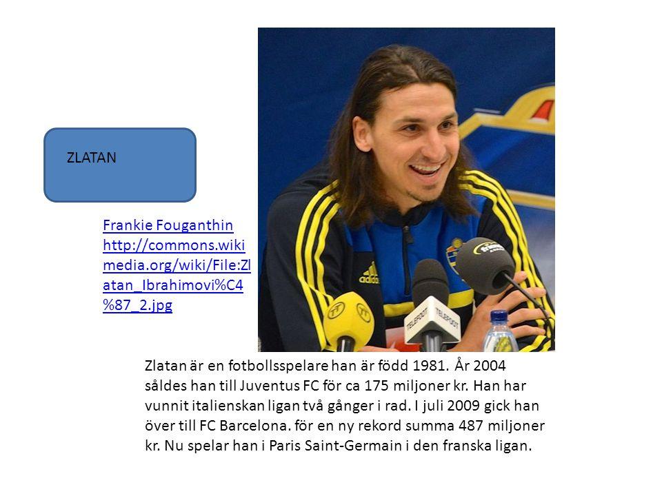 ZLATAN Frankie Fouganthin http://commons.wikimedia.org/wiki/File:Zlatan_Ibrahimovi%C4%87_2.jpg.