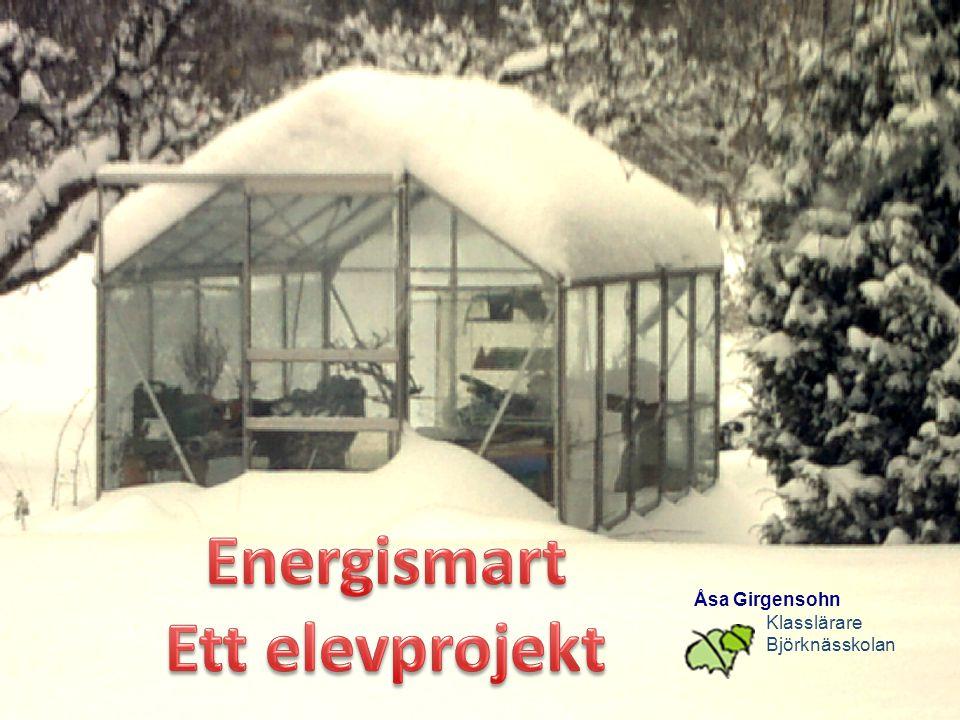 Energismart Ett elevprojekt