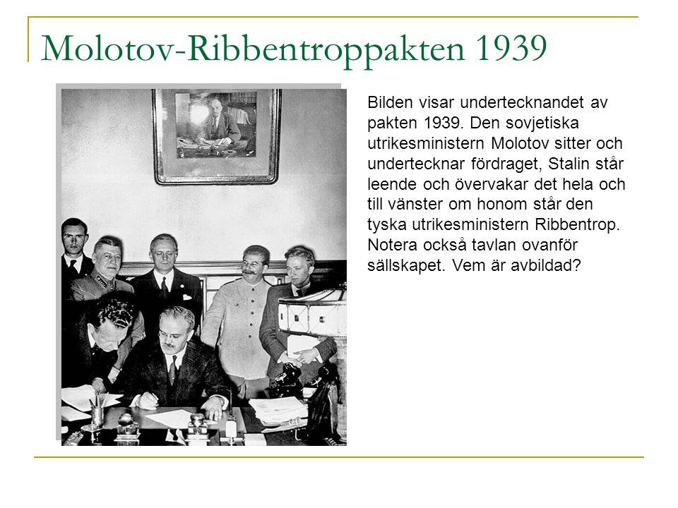 Molotov-Ribbentroppakten 1939