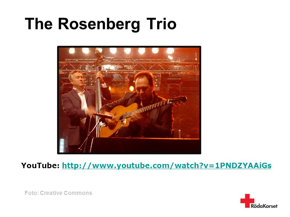 The Rosenberg Trio YouTube: http://www.youtube.com/watch v=1PNDZYAAiGs
