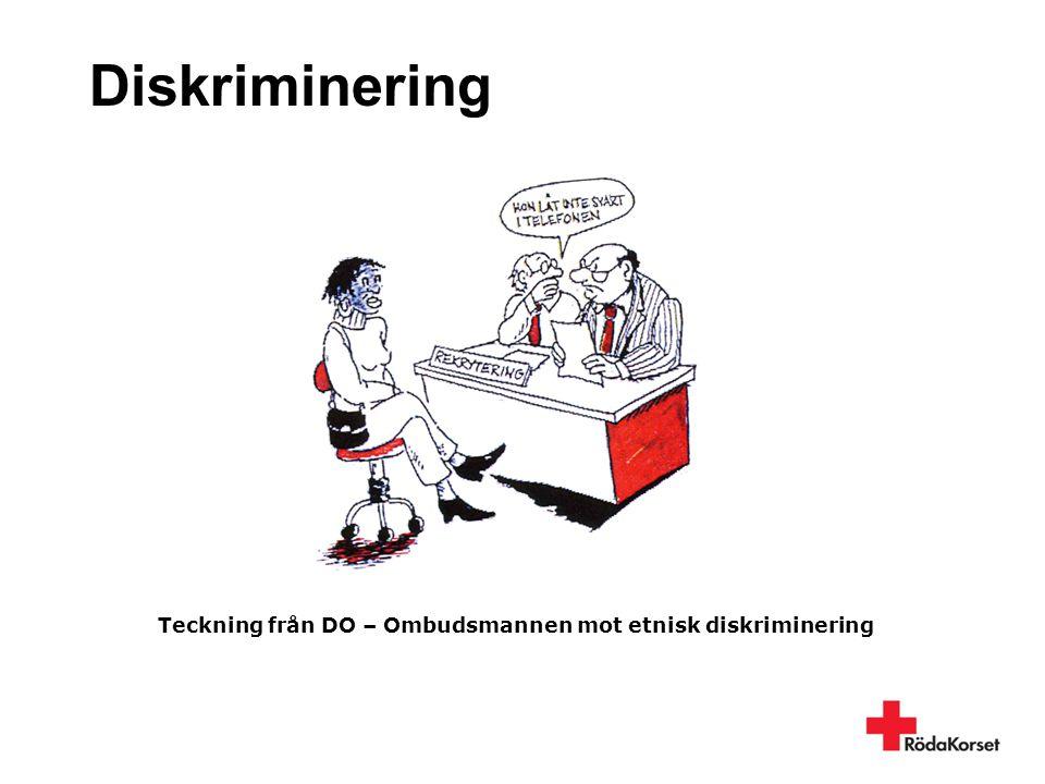 Teckning från DO – Ombudsmannen mot etnisk diskriminering