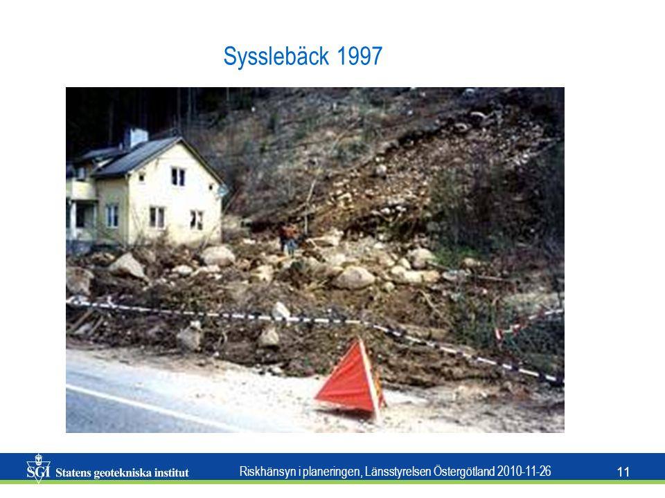 Sysslebäck 1997