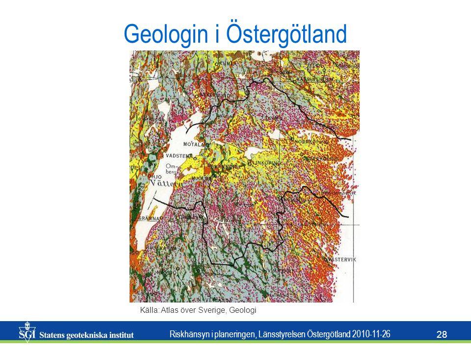 Geologin i Östergötland