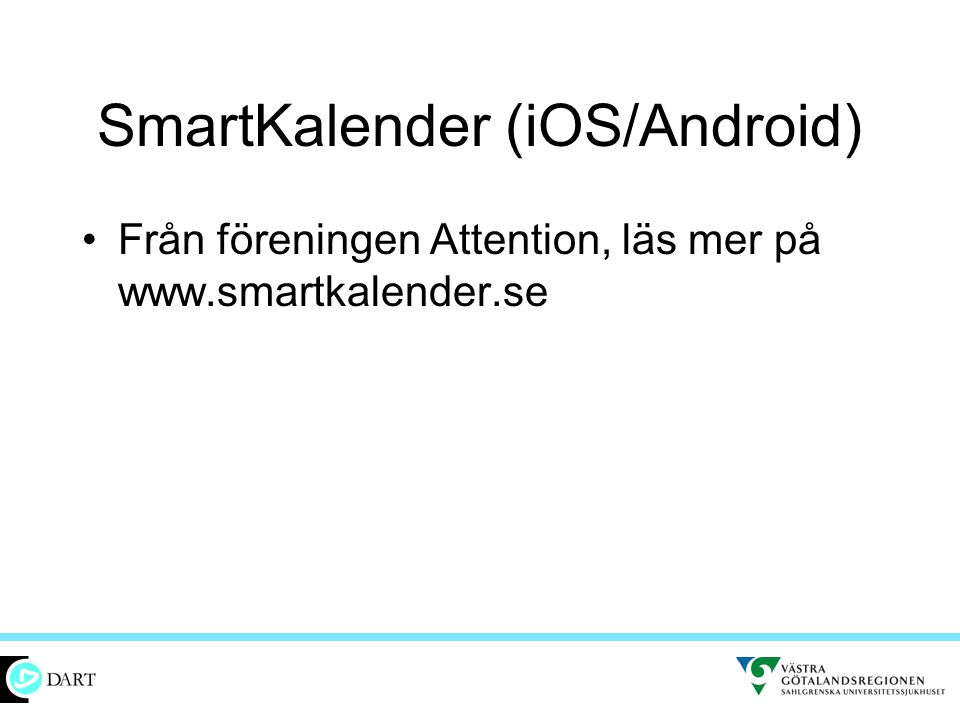 SmartKalender (iOS/Android)