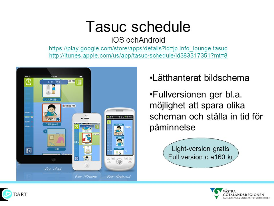 Tasuc schedule iOS ochAndroid https://play. google