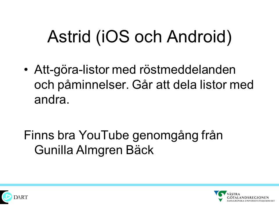 Astrid (iOS och Android)