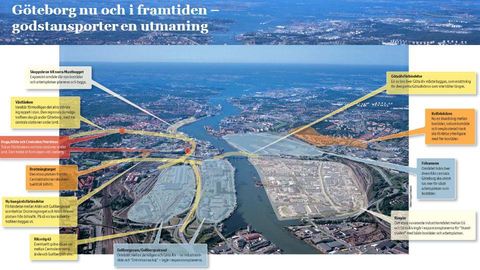 Göteborg nu och i framtiden – godstansporter en utmaning