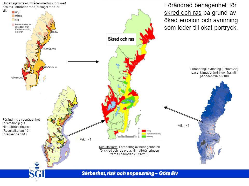 Underlagskarta – Områden med risk för skred och ras i områden med jordlager med lera och silt