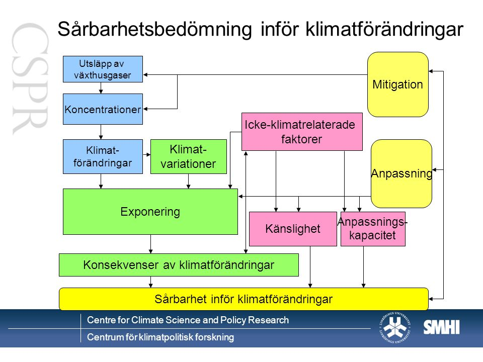 Sårbarhetsbedömning inför klimatförändringar