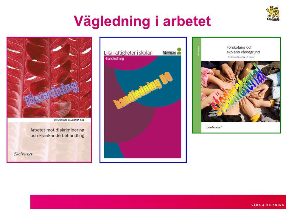 Vägledning i arbetet stödmaterial handledning DO förordning