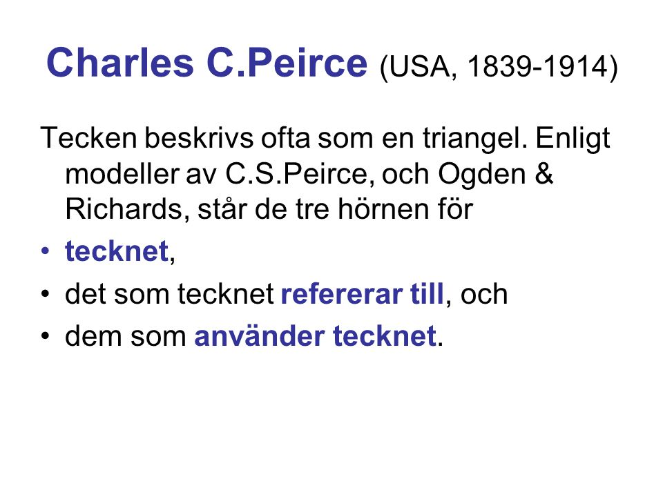 Charles C.Peirce (USA, 1839-1914)