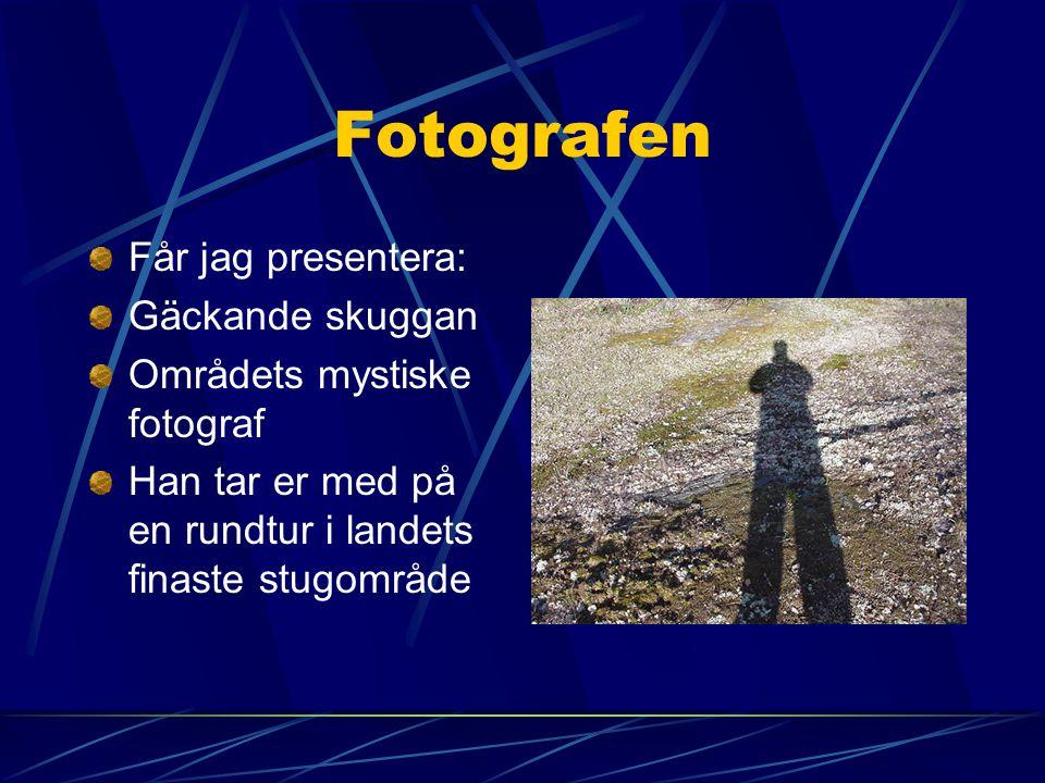Fotografen Får jag presentera: Gäckande skuggan