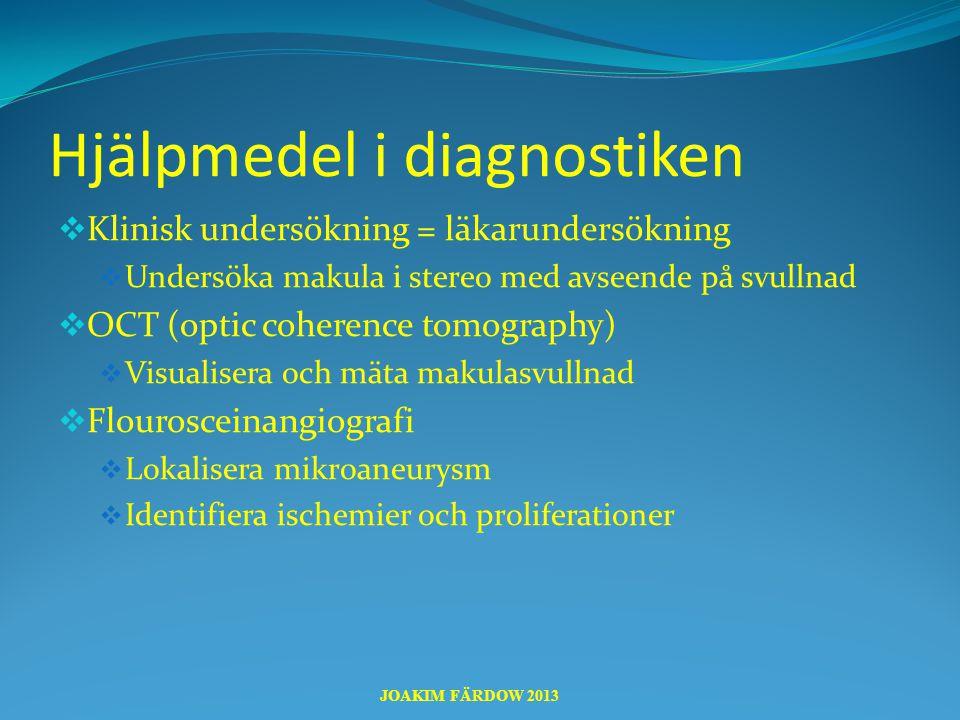 Hjälpmedel i diagnostiken