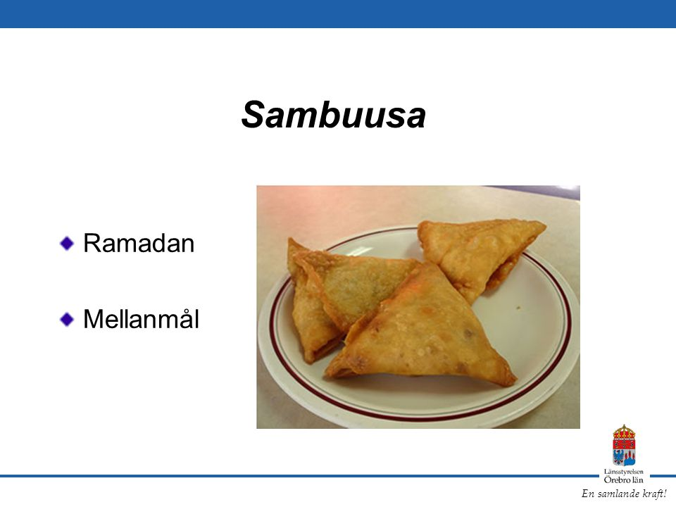 Sambuusa Ramadan Mellanmål