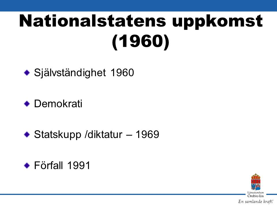 Nationalstatens uppkomst (1960)