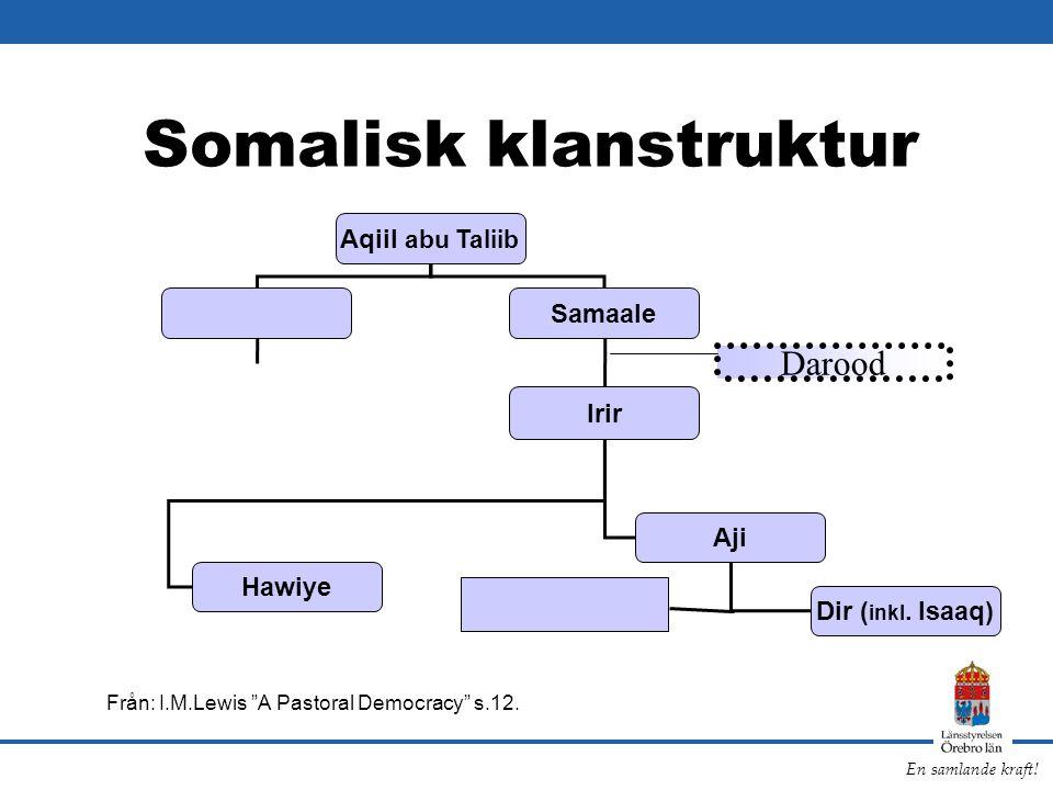 Somalisk klanstruktur