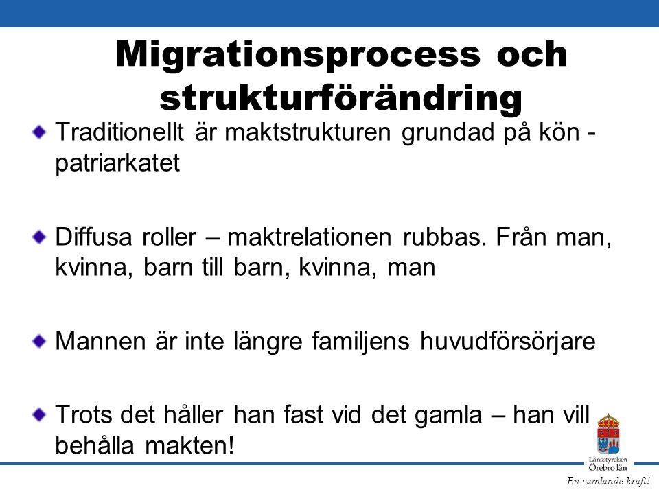 Migrationsprocess och strukturförändring