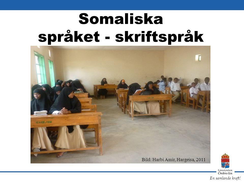 Somaliska språket - skriftspråk