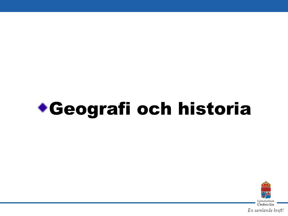Geografi och historia