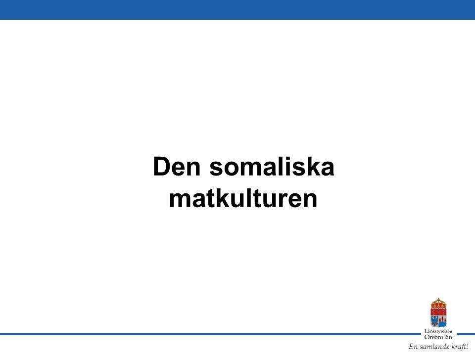 Den somaliska matkulturen