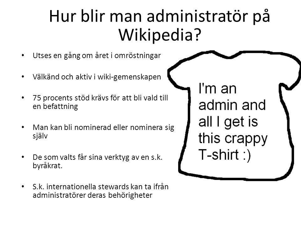 Hur blir man administratör på Wikipedia