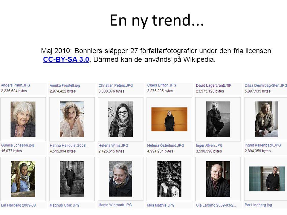 En ny trend...