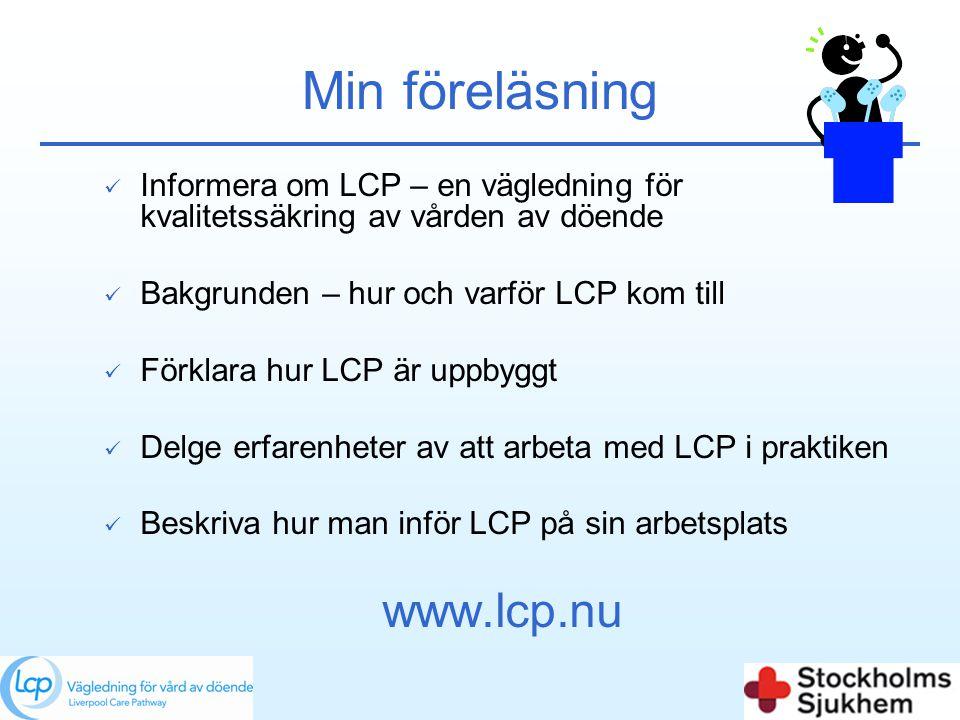 Min föreläsning www.lcp.nu