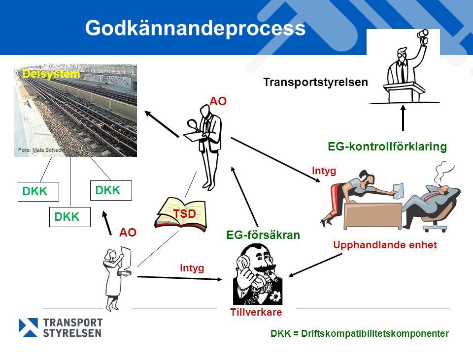 Godkännandeprocess Delsystem Transportstyrelsen AO