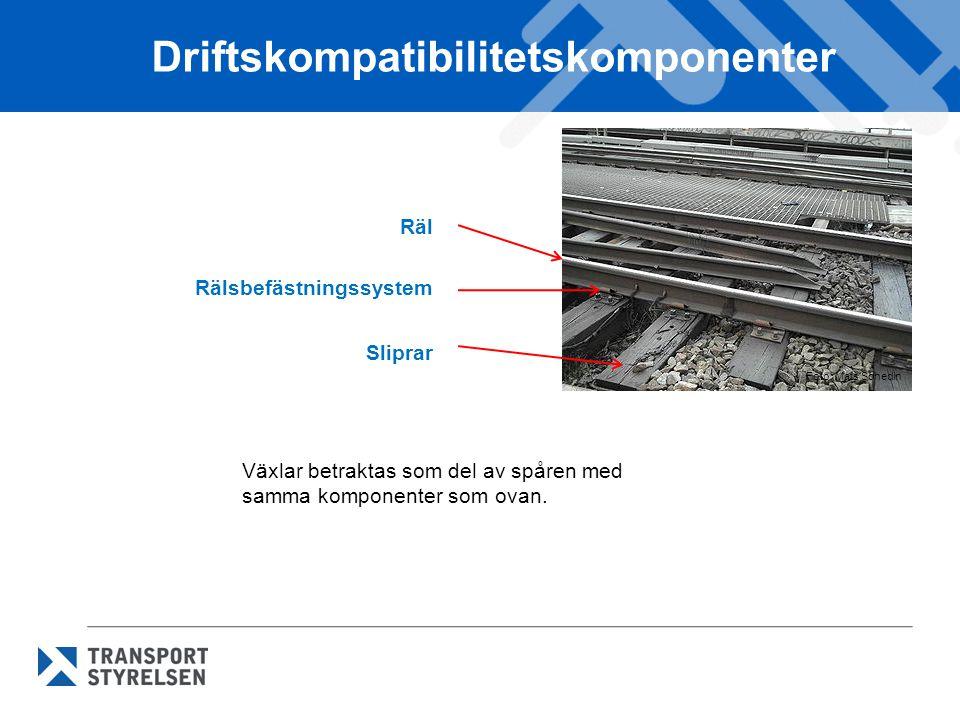 Driftskompatibilitetskomponenter