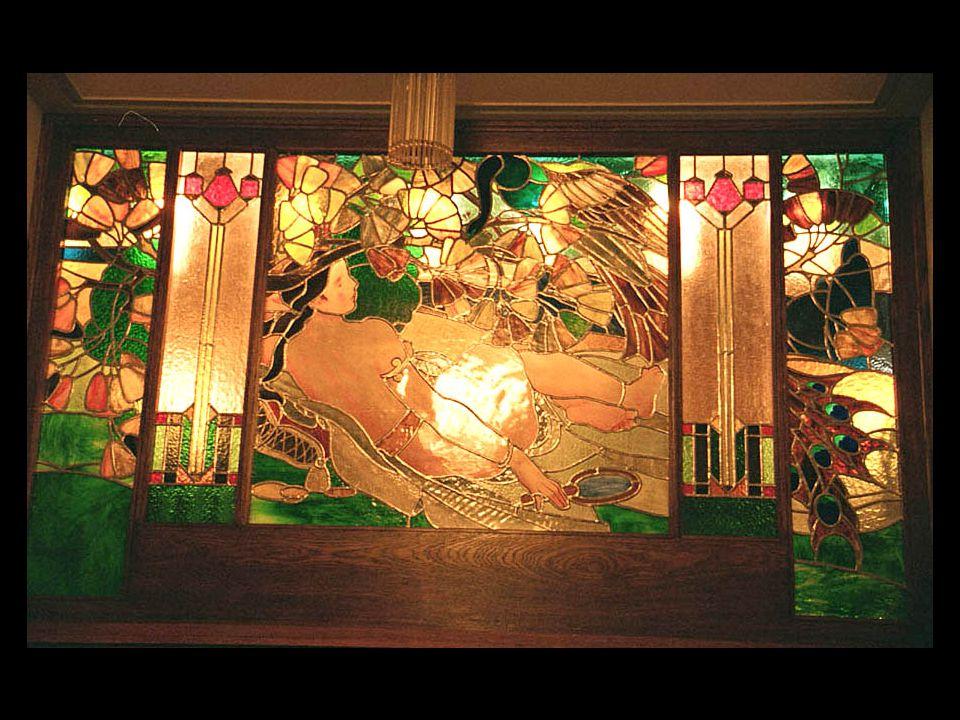 5-B15 Glasmålning i festlokalen