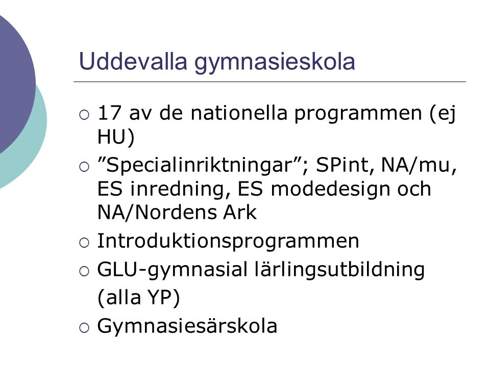 Uddevalla gymnasieskola