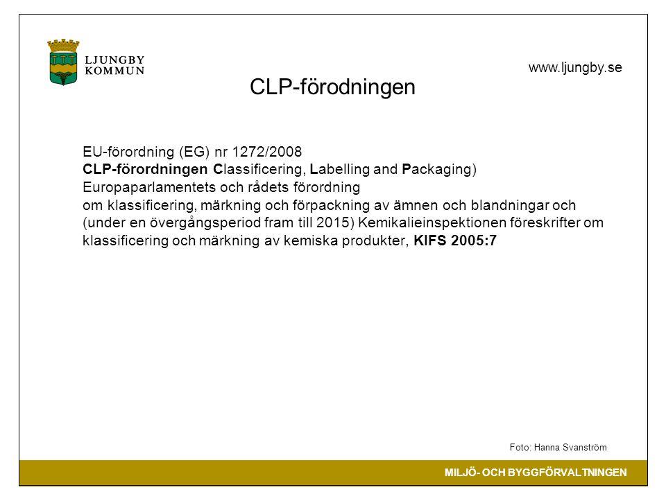 CLP-förodningen