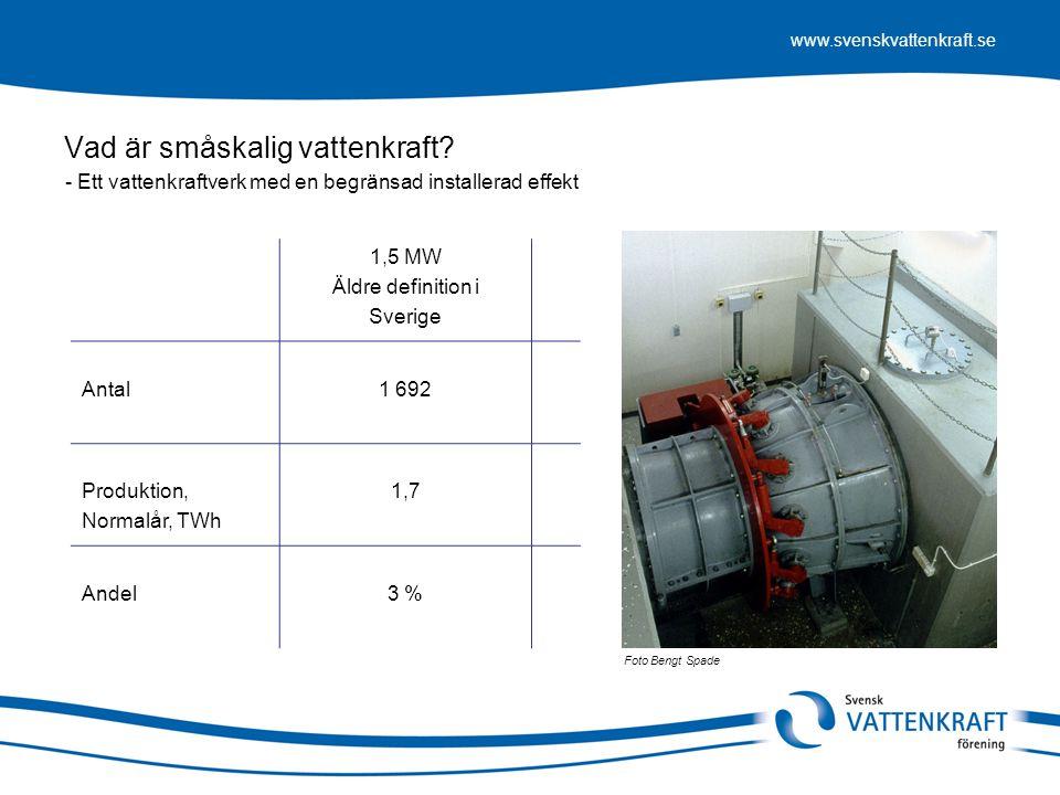 Vad är småskalig vattenkraft
