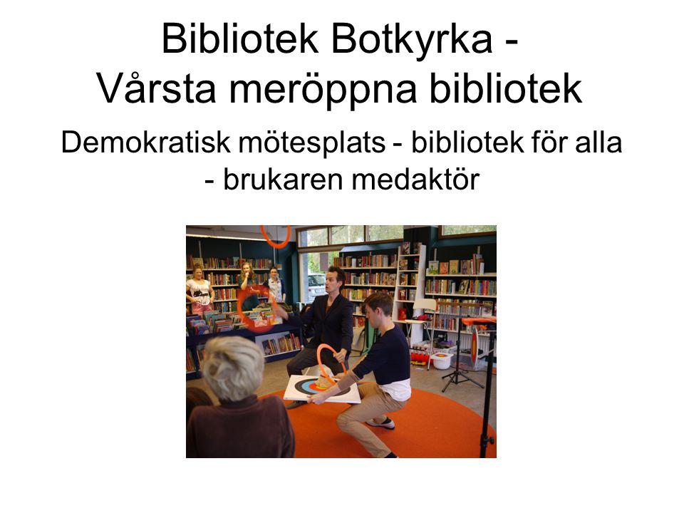 Bibliotek Botkyrka - Vårsta meröppna bibliotek