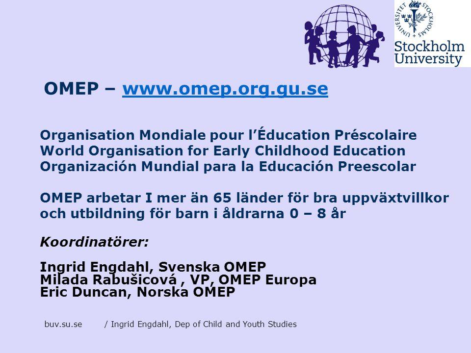 OMEP – www.omep.org.gu.se
