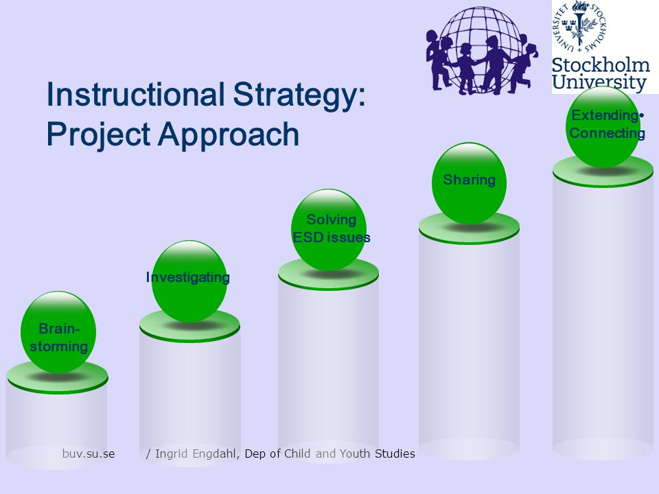 Instructional Strategy: Project Approach