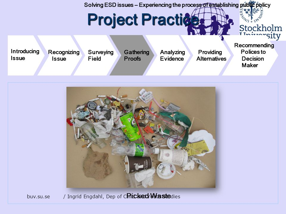 Project Practice Picked Waste