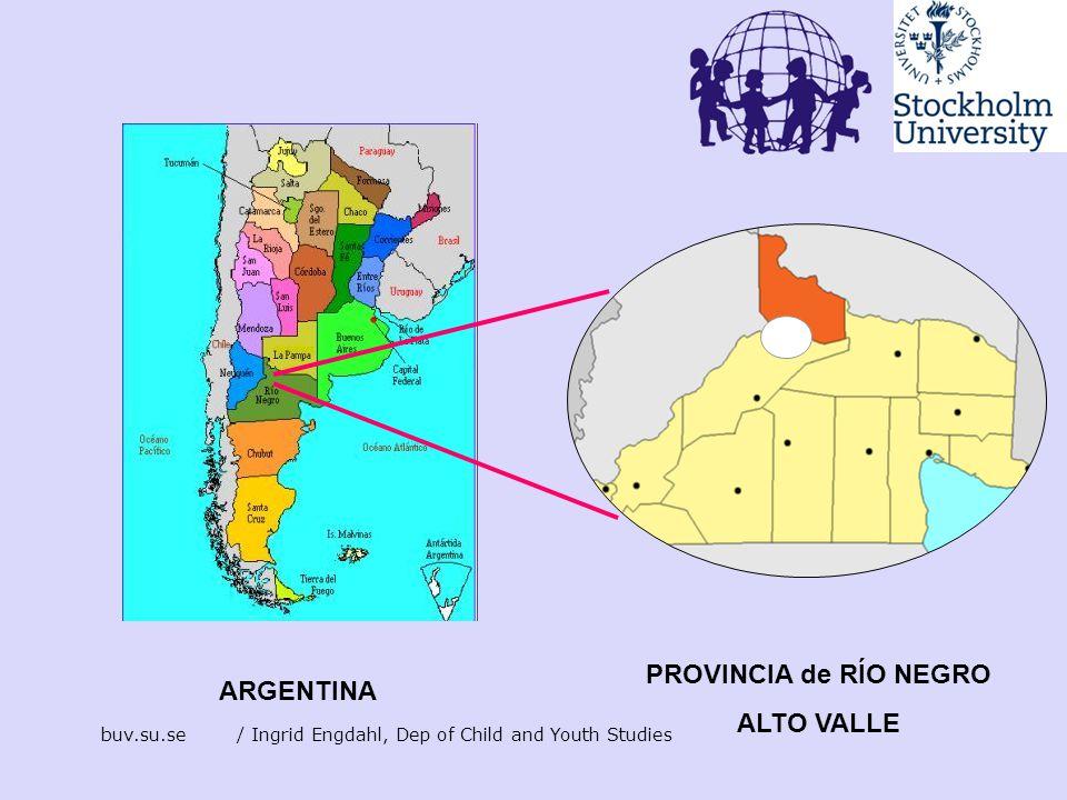 PROVINCIA de RÍO NEGRO ALTO VALLE ARGENTINA
