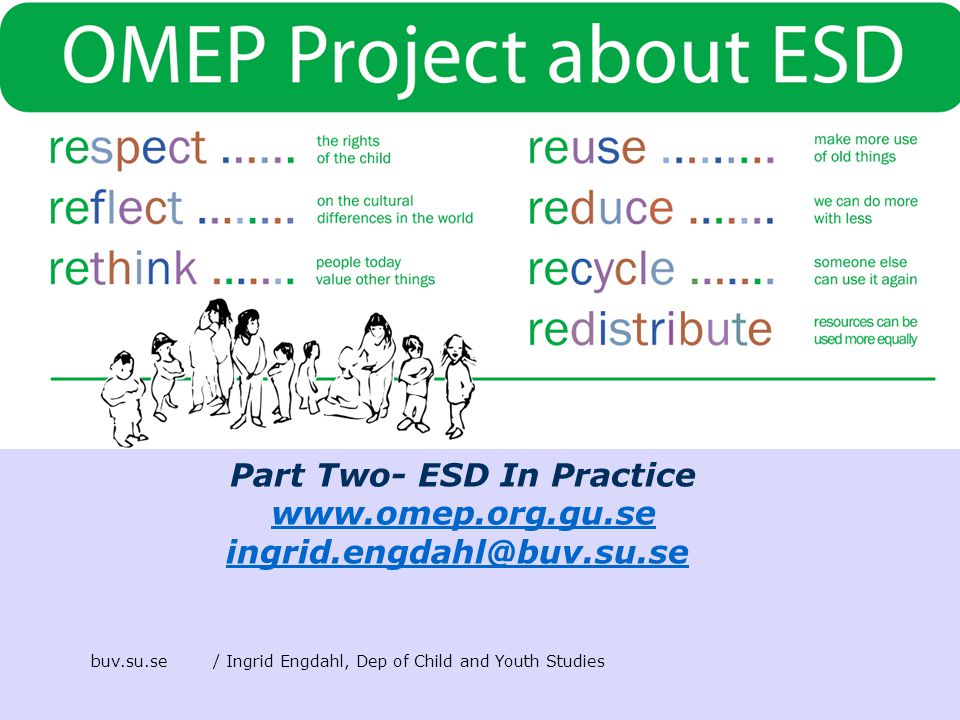 Part Two- ESD In Practice