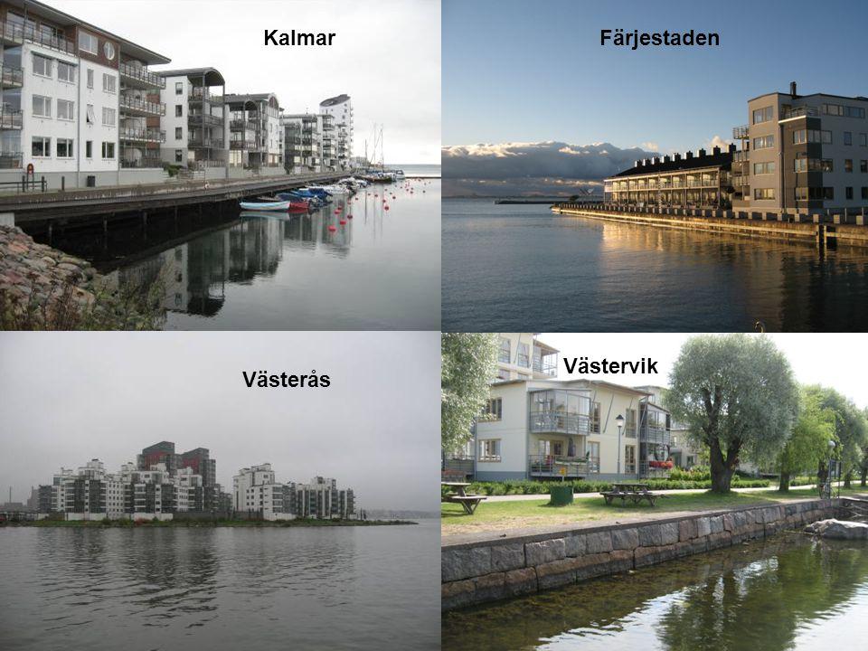 Kalmar Färjestaden Västervik Västerås