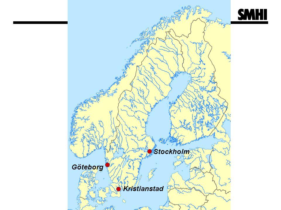 Stockholm Göteborg Kristianstad