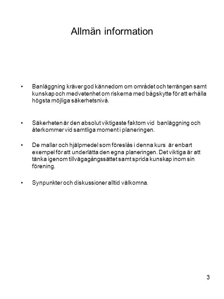 Allmän information