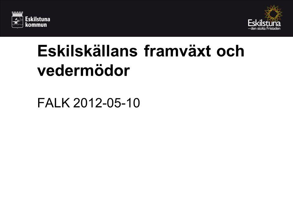 Eskilskällans framväxt och vedermödor