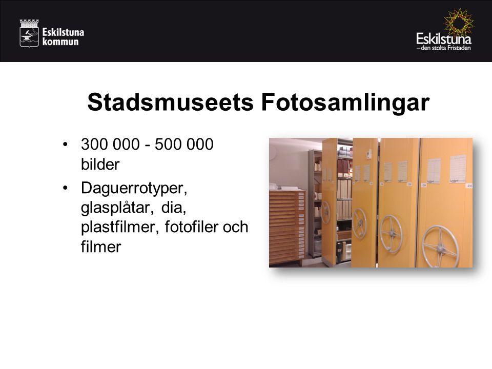 Stadsmuseets Fotosamlingar