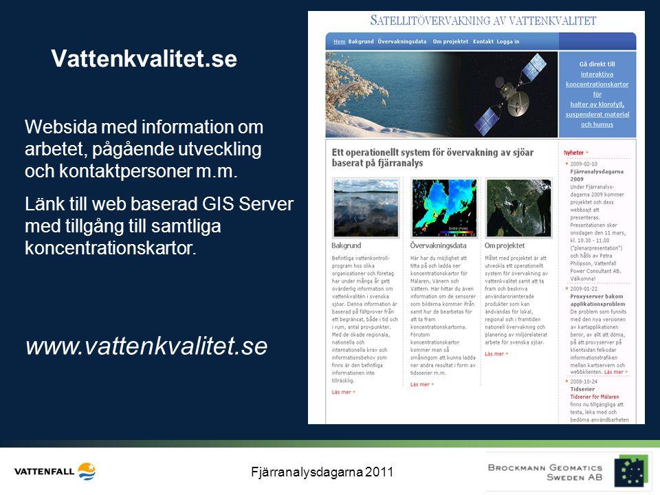www.vattenkvalitet.se Vattenkvalitet.se