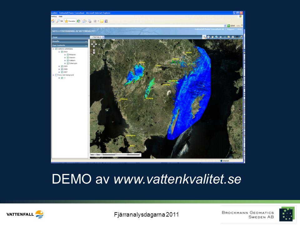 DEMO av www.vattenkvalitet.se