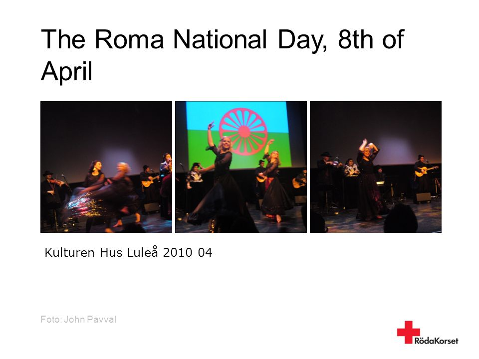 The Roma National Day, 8th of April