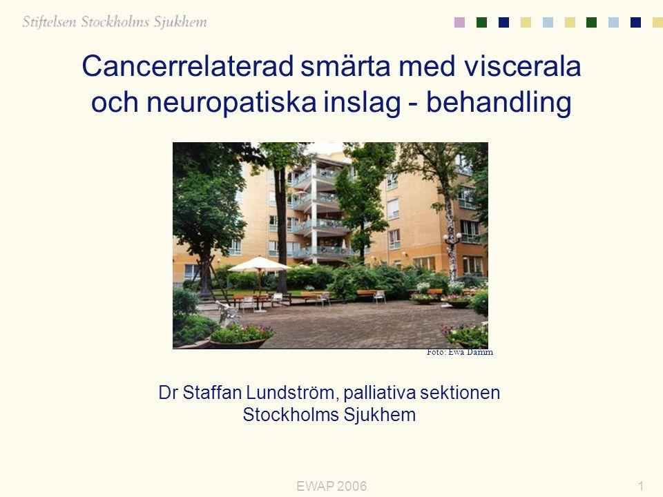 Dr Staffan Lundström, palliativa sektionen